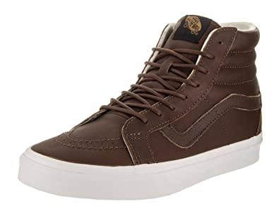 Unisex Adults Sk8-Hi Reissue Leather Trainers Vans InFwRp