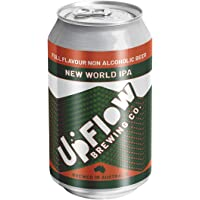 UpFlow New World IPA Non-Alcoholic Beer 0.5% ABV, 24 x 355mL