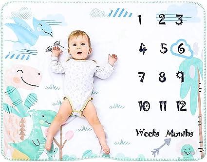 Personnalisé Bébé Blanc Dimple couverture cadeau bébé garçon
