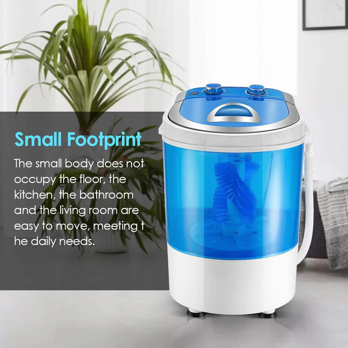 S SMAUTOP Portable Mini Shoes/washing machine Smart Lazy/Automatic Shoes Washer Artifact Deodorant Shoes Washing Machine/