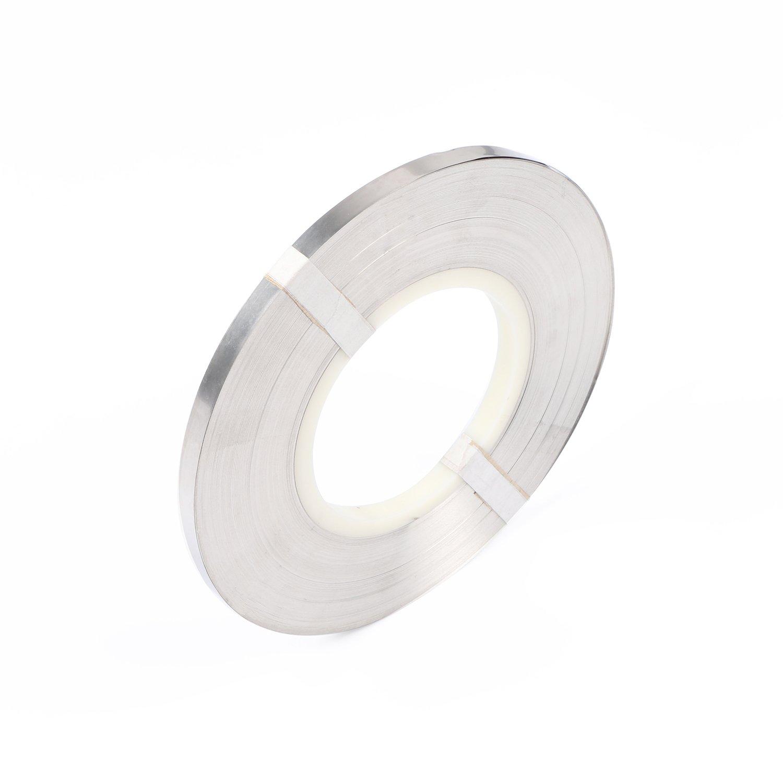 Tira de n/íquel puro de 0.15 x 8 mm para paquetes de bater/ías 18650 Soldadura de bater/ías 1 kg//rollo
