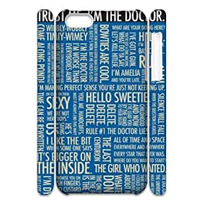 Doctor Who Personalized 3D Cover Case for Iphone 5C,customized phone case ygtg-314682 WANGJING JINDA