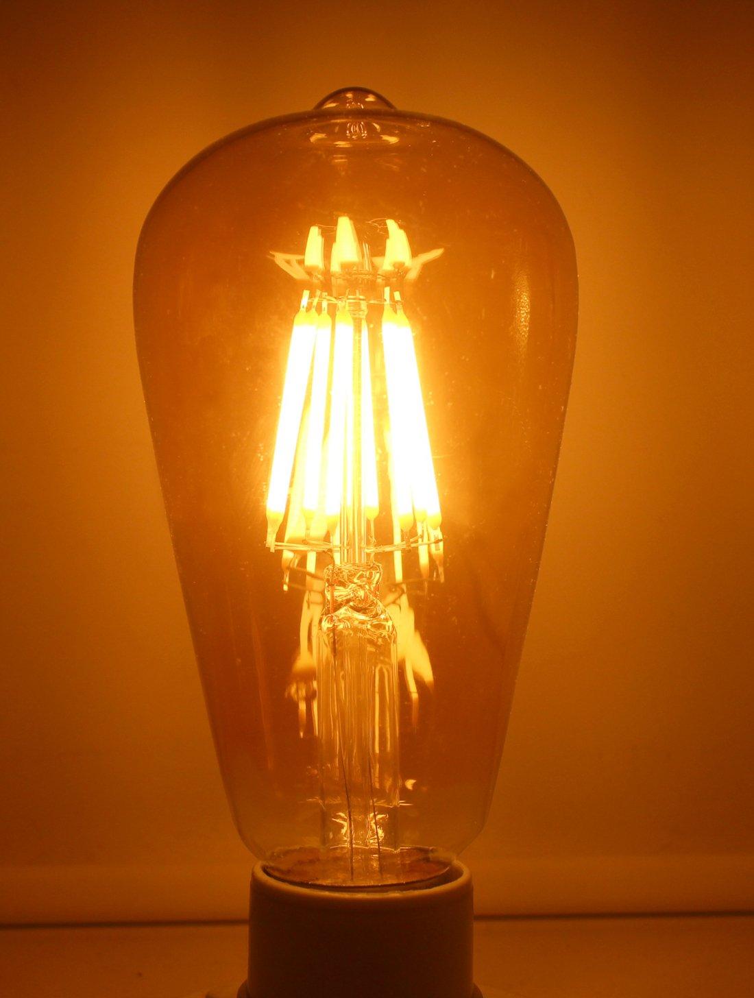 JCKing - Bombillas de repuesto para bombillas incandescentes de 80 ...