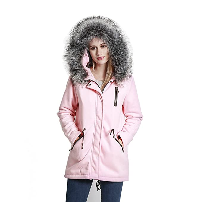 Amazon.com: KENGURU COVE - Chaqueta de lana para mujer ...