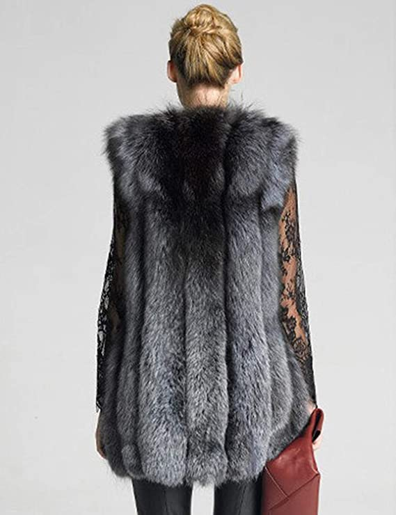 Chalecos De Piel Mujer Espesar Termica Plush Piel Sintética Outerwear Ropa Invierno  Vintage Elegantes Vest Fashion Sin Mangas Chaleco De Piel Chaqueta De ... 981a691c9d9e