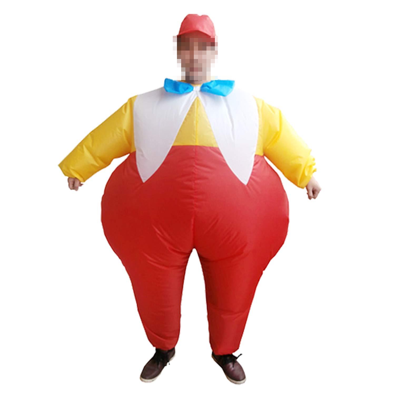 LOVEPET Fett Bruder Aufblasbare Kostüm Kostüm Kostüm Halloween Weihnachten Erwachsene Cosplay Karnevalsparty Parodie Lustige Aktivität Performance Requisiten Anzug 163f1d