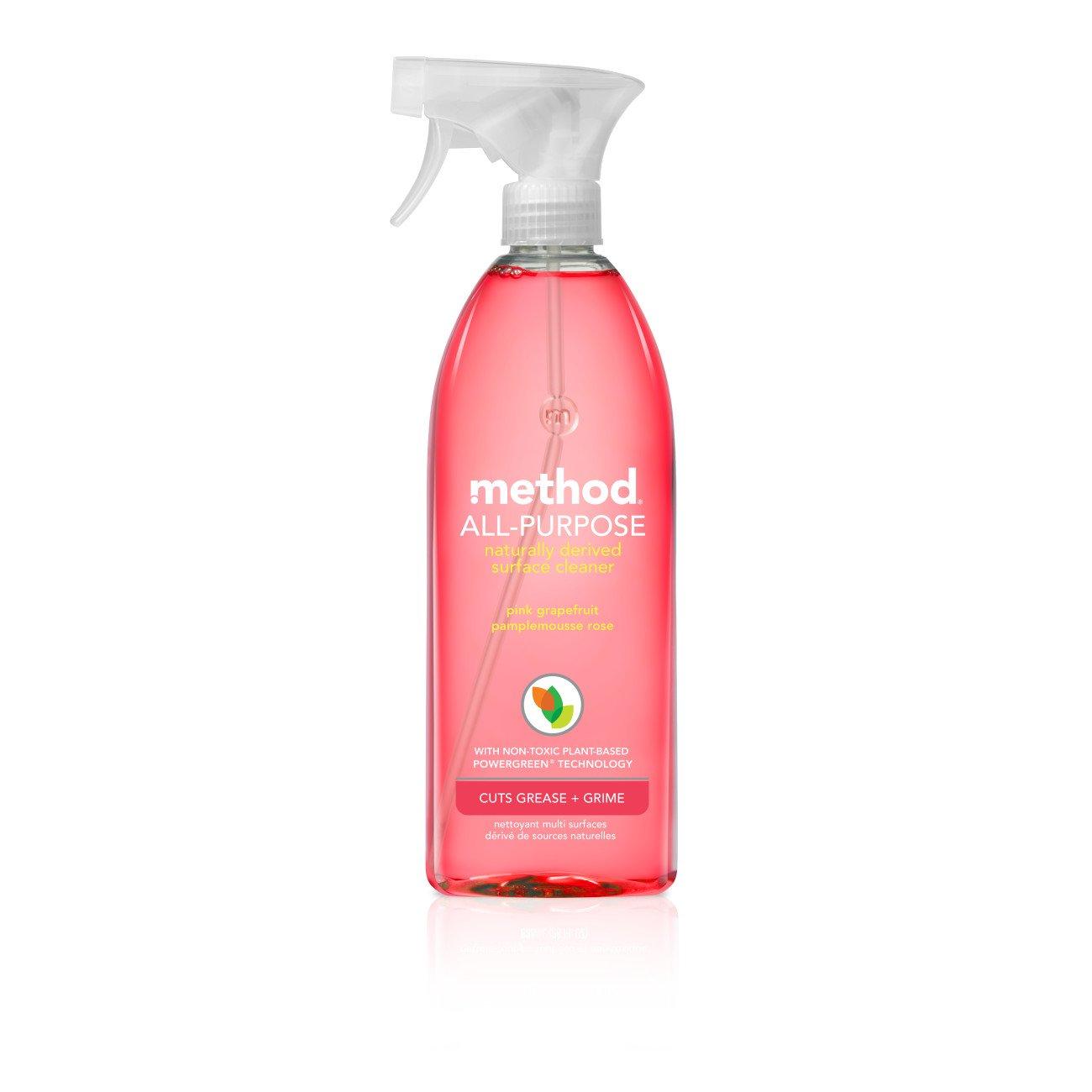 Method All-Purpose Cleaner, Pink Grapefruit, 28 Fl Oz (Pack of 1)