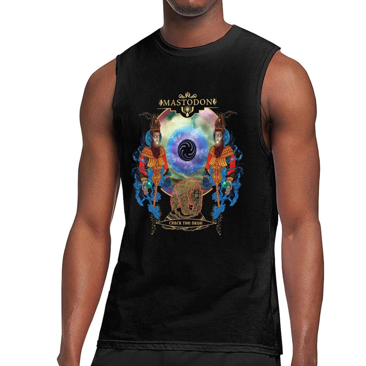 Mastodon Crack The Sky T Shirt Man Ultra Tee Sleeveless T Shirt Fashion Top Tank Top Tee 7