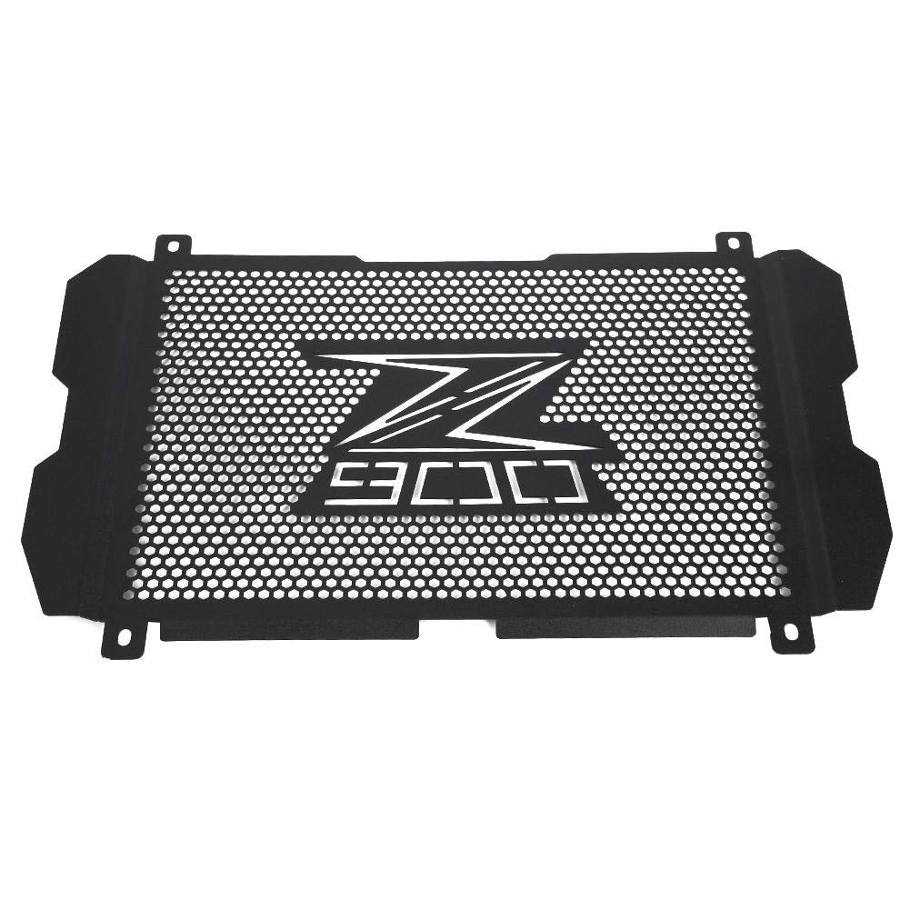 Suuonee Radiator Guard Grill, Black Motorcycle Radiator Grille Guard Cover Cap for Kawasaki Z900 by Suuonee