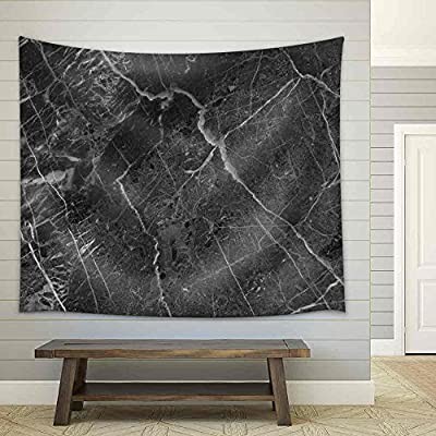 Original Creation, Magnificent Style, Black Marble Texture (High Resolution Core Tissue) Fabric Wall