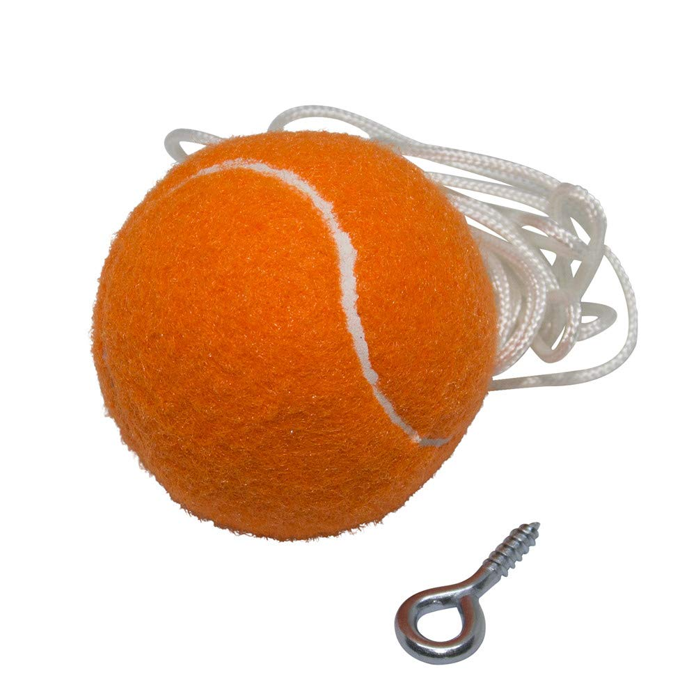 Garage Parking Assist, PiBridge Parking Ball for Garage Parking Aid Parking Assistance Solution Garage Stop Ball Parking Guide Ball, Perfect Garage Car Stopper (Orange Ball 5 Car Garage Pack)