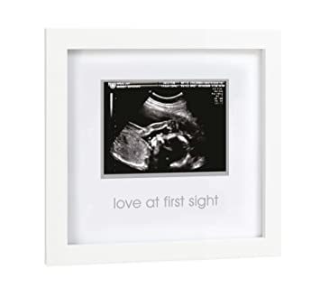 Amazoncom Pearhead Love At First Sight Sonogram Keepsake Frame