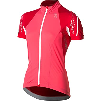 edd772aea Gore Bike Wear Xenon 2.0 Short Sleeve Jersey - Women s Coral Red Rich Red