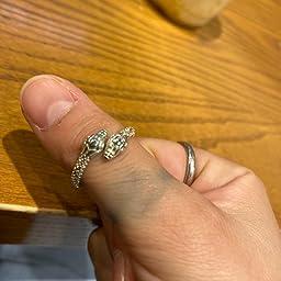 Amazon Avilmore シルバー スネーク リング 指輪 フリーサイズ 蛇 メンズ レディース ユニセック リング 通販