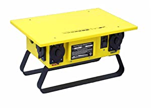 CEP Construction Electrical Products 6506GU 6 Outlet 50-Amp Single Phase Power Box