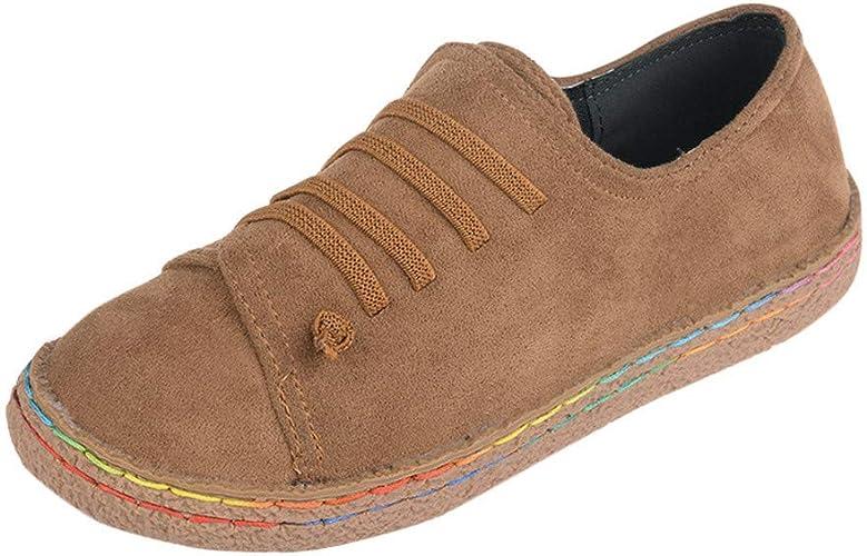 PLOT Lace-Up Flat Boots, Women Ladies
