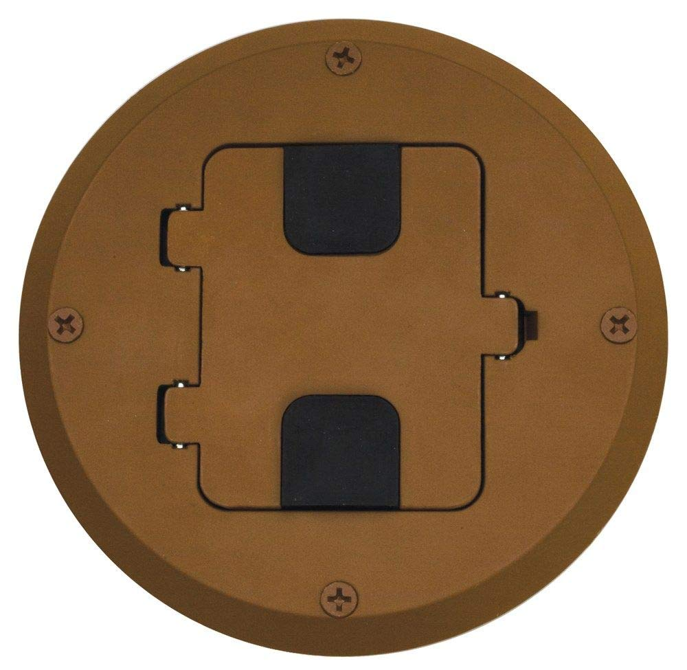 Bryant Electric RF515BN Floor Box Kit Brown