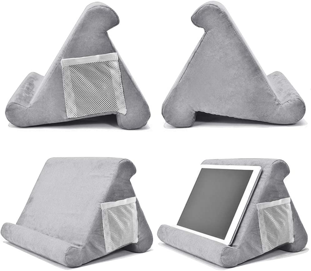 eReaders Books Magazines SuperLee Pad Pillow Multi-Angle Soft Pillow Lap Stand Holder for Tablets Tablet Stand Pillow for iPad Smartphones