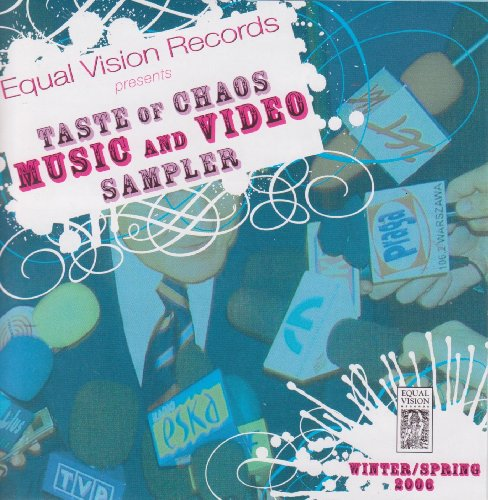 Equal Vision Records presents Taste Of Chaos Music And Video Sampler - various artists (Ebhanced Audio CD - Records Music Taste