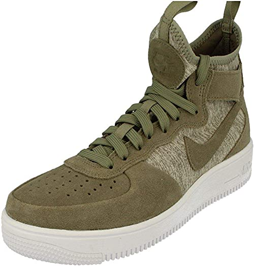 Nike Air Force 1 Ultraforce Mid Mens Hi Top Trainers Shoes ...