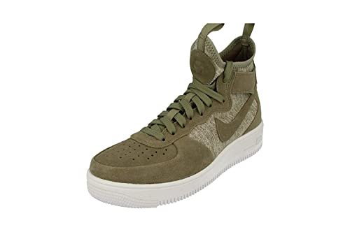 brand new 9cf0d fcadb Nike Air Force 1 Ultraforce Mid Prm Sneakers Verde Militare 921126-002 (45 -