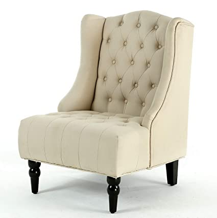 Amazon.com: Hebel New Modern Wingback Accent Chair Diamond ...