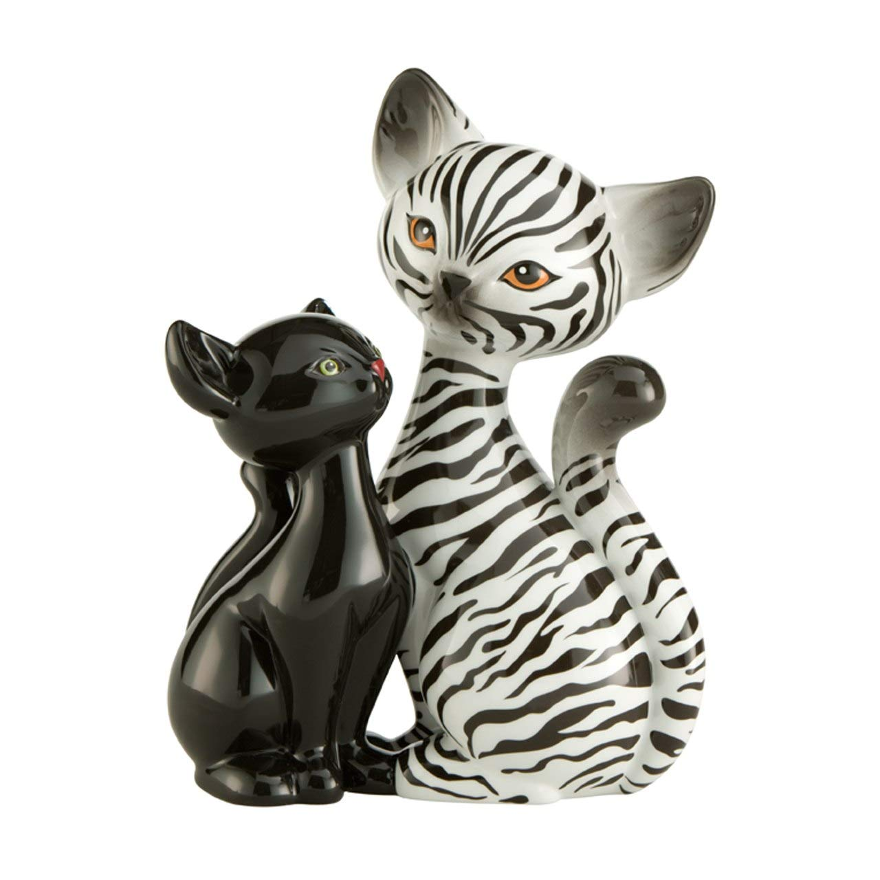 Goebel Artis Orbis Zebra Kitty in Love Kitty de Luxe Cat