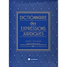 DICTIONNAIRE DES EXPRESSIONS JURIDIQUES (SOUS COFFRET)