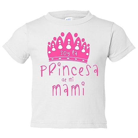 Camiseta niño Soy la princesa de mi mami - Blanco, 3-4 años ...