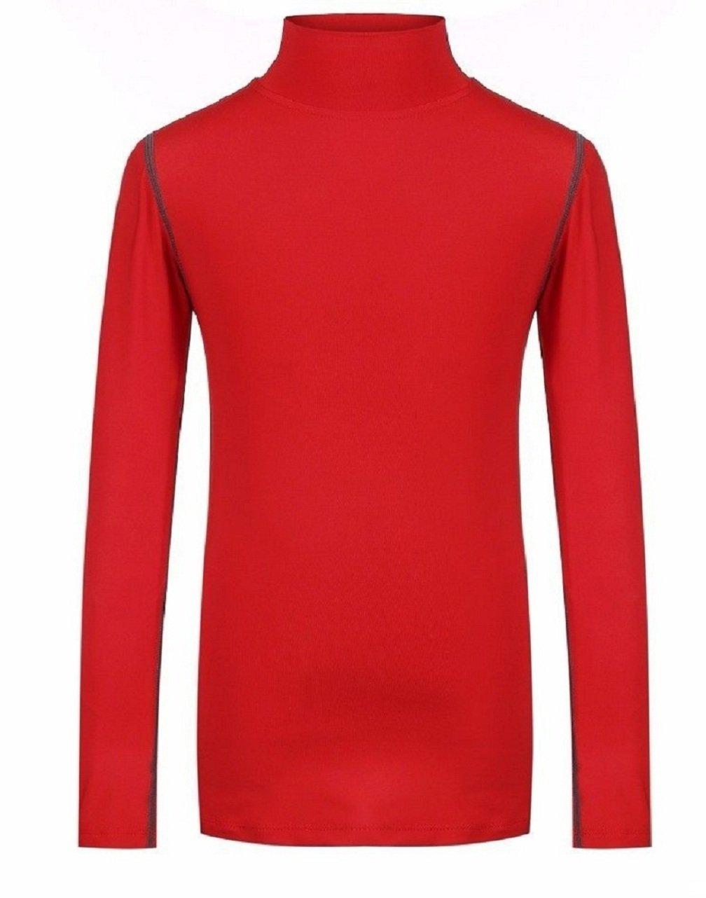 L&L® Boys Kids Children Compression Baselayer Thermal Shirt Top Long Sleeve Skins UK