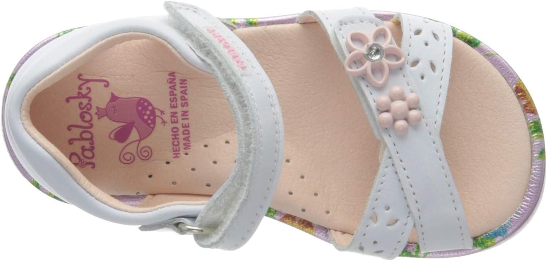 Pablosky Calzado de la Linea StepEasy 20 EU Blanc Sandales 0