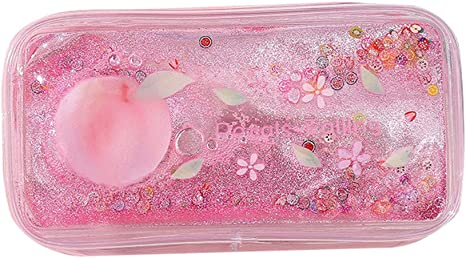 FiedFikt - Estuche para lápices con Purpurina, Color Rosa: Amazon.es: Hogar