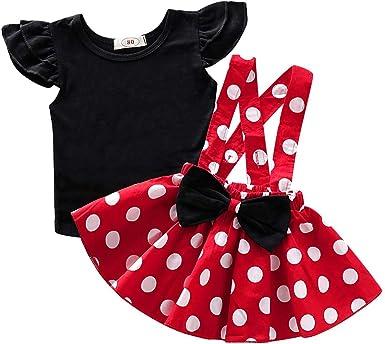 Clacce Vestido de Verano para niña, de algodón, Informal, con ...