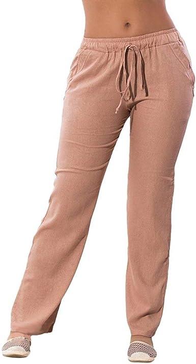Elegantes Pantalones Mujer Verano Bandage Chiffon Con Lazo Bolsillos Delanteros Cintura Media Clasico Especial Elastische Taille Slim Fit Pantalones De Tela Comodo Tendencia Largos Pants Mujeres Amazon Es Ropa Y Accesorios