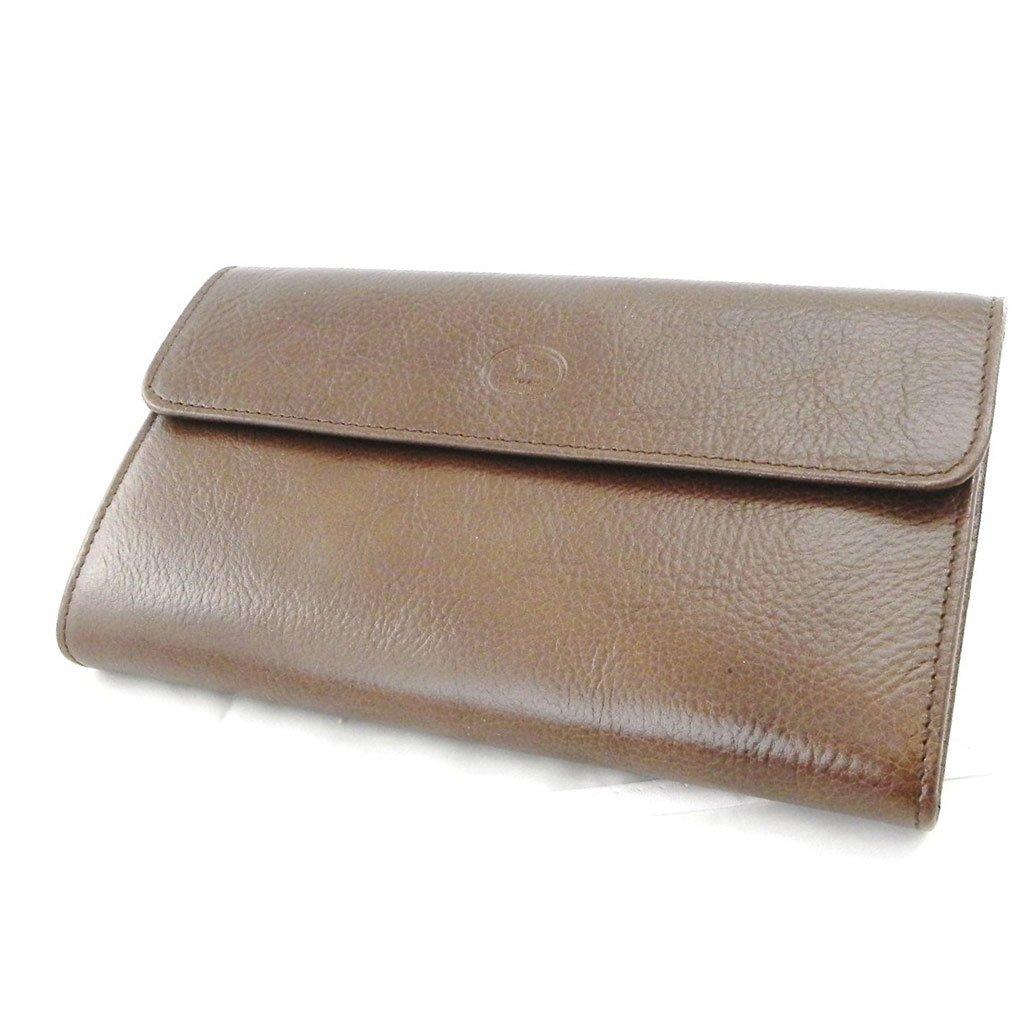 Wallet + checkbook holder leather ''Frandi'' brown - ecological york. by Les Tresors De Lily (Image #2)