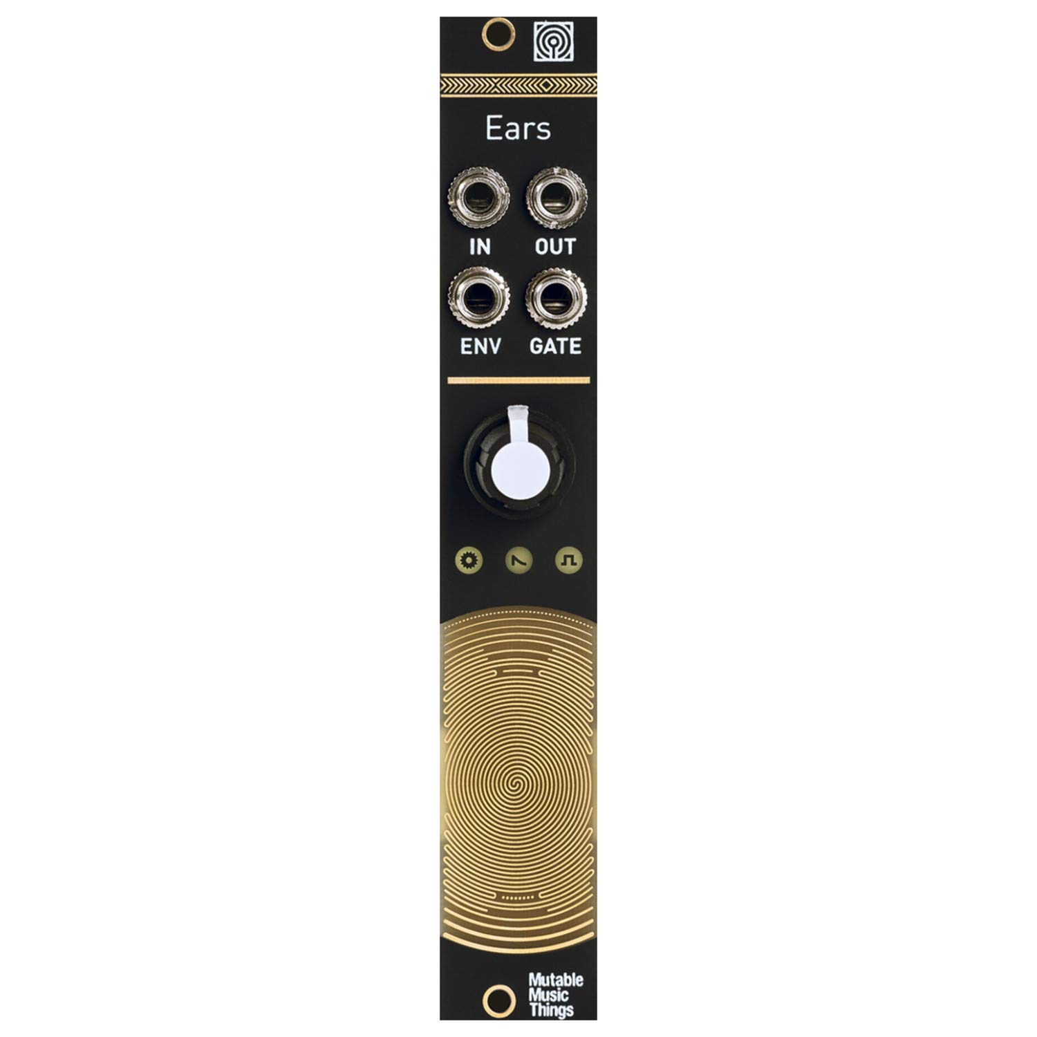 Mutable Instruments Ears Contact Microphone Eurorack Synth Module by Mutable Instruments