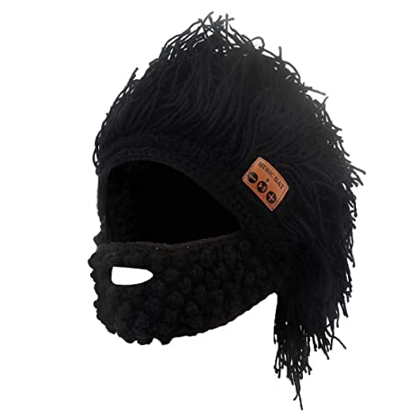Amazon.com  Bluetooth Earphone Music Beanie Barbarian Hat with ... dcb11efd035
