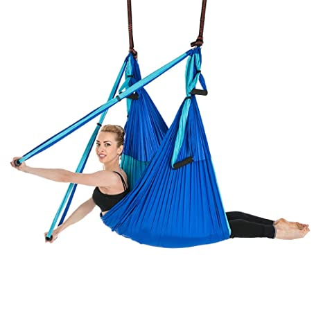 Gububi Aerial Hamaca de Yoga Hamaca de Yoga aérea inversa 6 ...