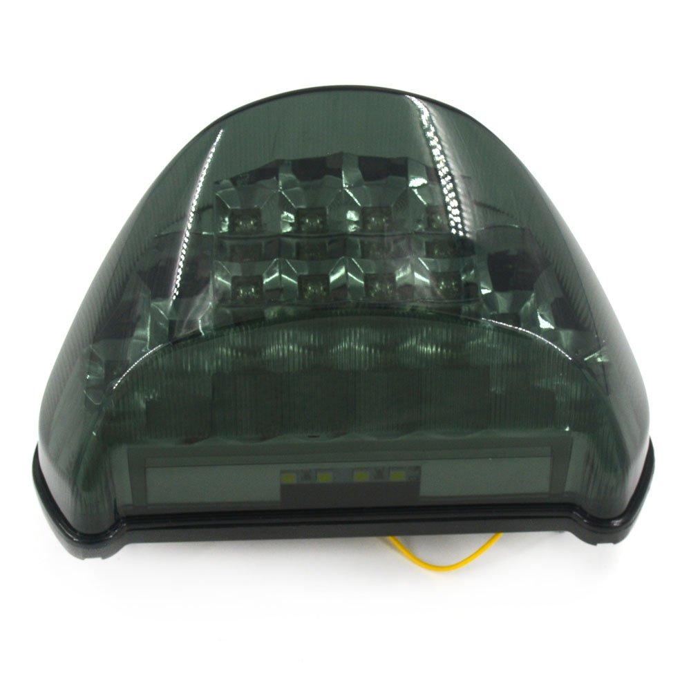 Luci a per fanali posteriori indicatori di direzione per Kawasaki Ninja Z800 ZX6R 636 stop