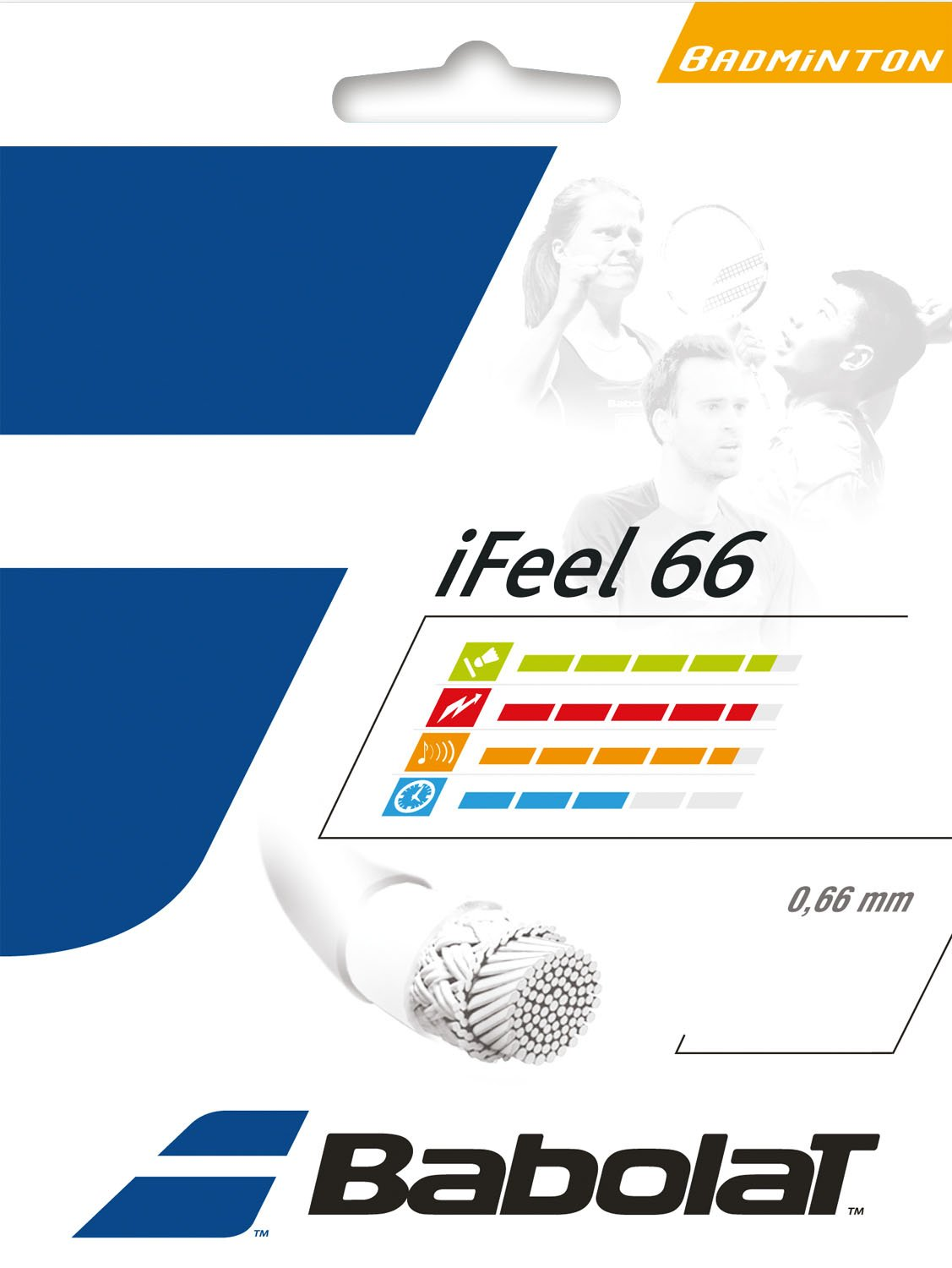 Babolat iFeel 66 0.66mm Badminton Strings Set