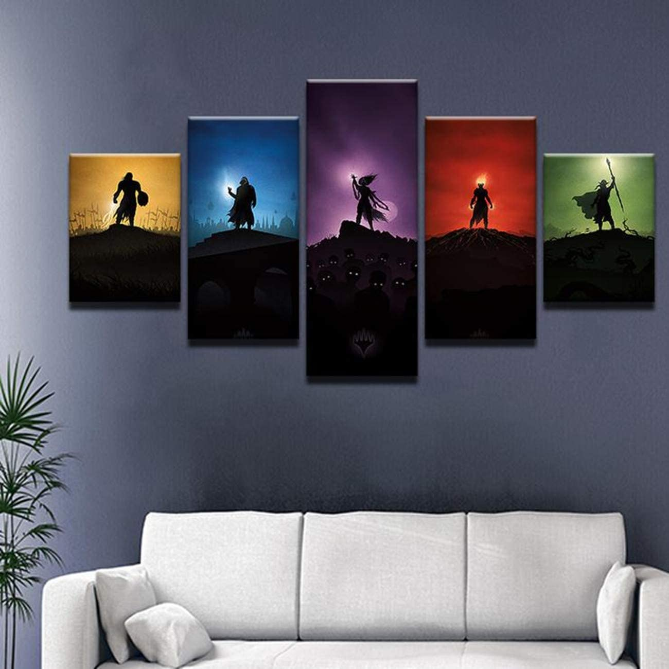 Poster Customize Size The 5th Book Of Magic Art Prints Wall Decor Living Room Wall Ready To Hang Art Print On Home Decor Wall Poster