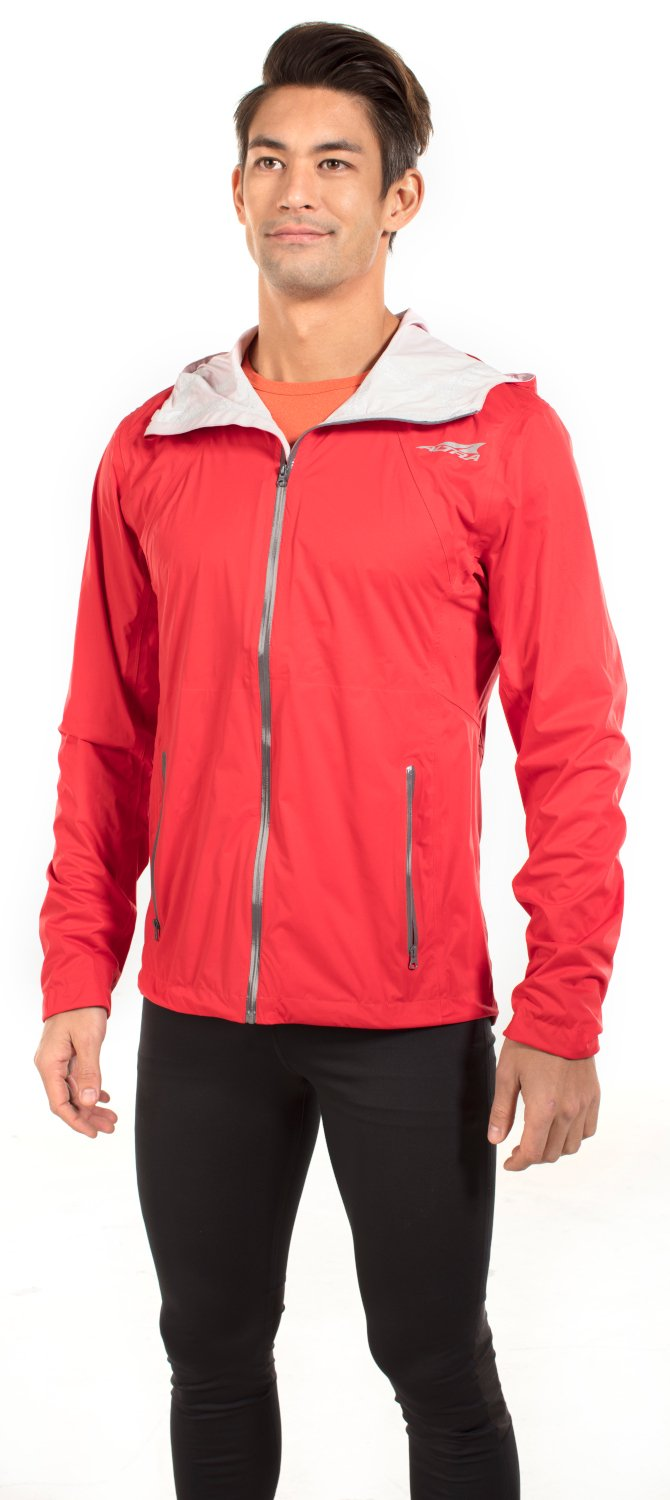 Altra AAM17F3A2 Men's Wasatch Jacket, Red - Small