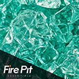 Evergreen Fire Glass 1/2″ Firepit Glass Premium 10 Pound Great for Fire Pit Fireglass or Fireplace Glass