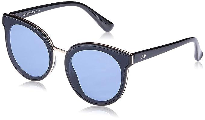 Amazon.com: UltraViolet - Gafas de sol con marco para mujer ...