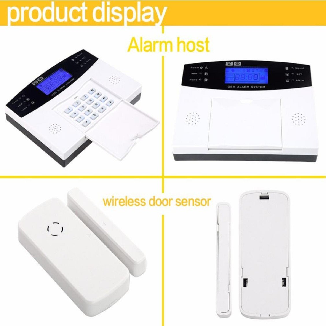 Amazon.com: Naladoo Wireless LCD GSM & SMS Autodial Casa ...