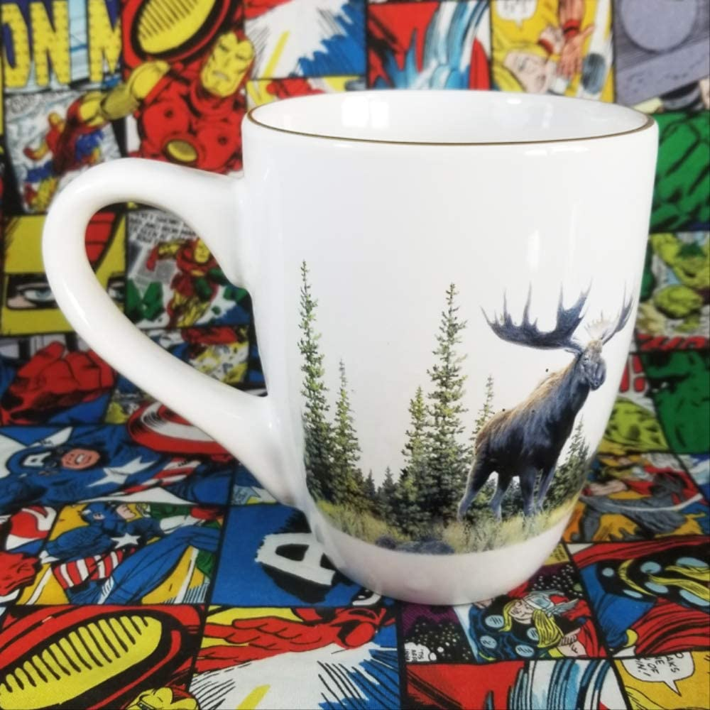 Canada Moose Big Water Cup Practical Tea Cup Banff National Park