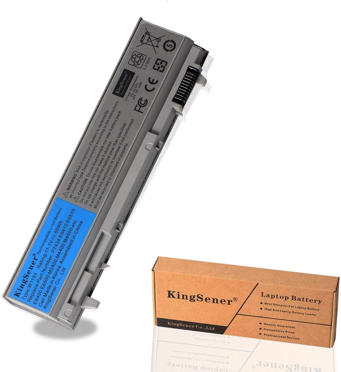 KingSener Korea Cell New W1193 Battery for DELL Latitude E6400 E6410 E6500 E6510 M4400 M6400 PT434 PT436 PT437 KY265 KY266 KY268