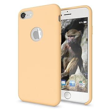 e97d2ba5e10 NALIA Liquid Silicona Funda Carcasa Compatible con iPhone 8, Dura Tacto  Suave Carcasa Protectora Ultra