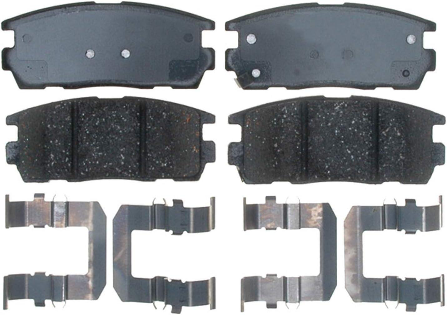 For 2015-2018 Cadillac Escalade ESV Brake Pad Set Rear AC Delco 77852XF 2016