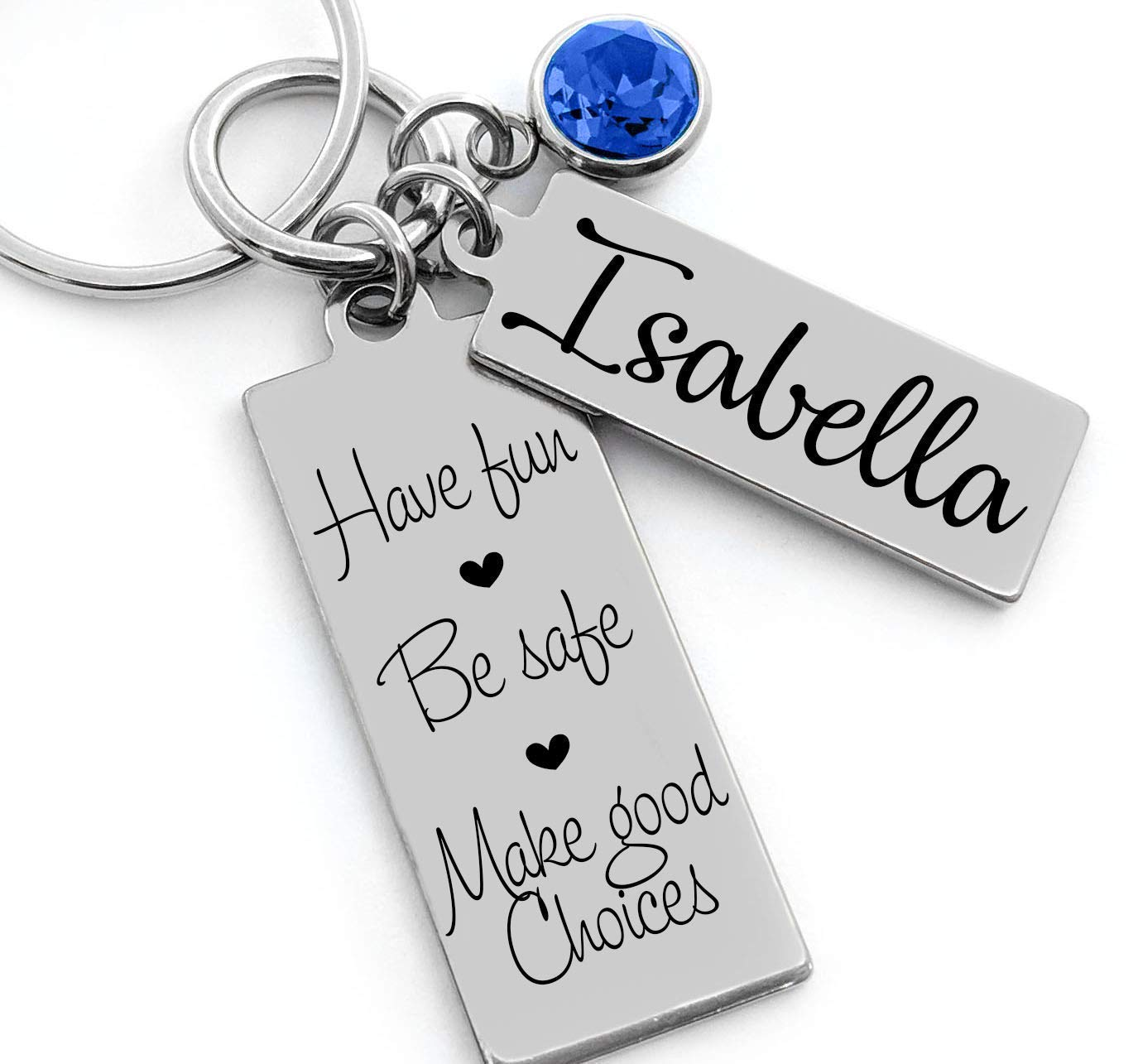 New Driver Key Chain Come Home Teen Birthday Gift Small For